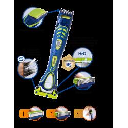 Бритвенный набор Schick Hydro 5 Groomer (1 бритва + 16 сменных картриджа)