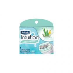 Сменные лезвия Schick Intuition Naturals Sensitive (3 картриджа)