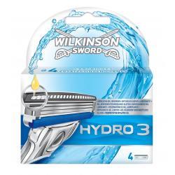 Сменные лезвия Schick Wilkinson Sword Hydro 3 (4 шт.)