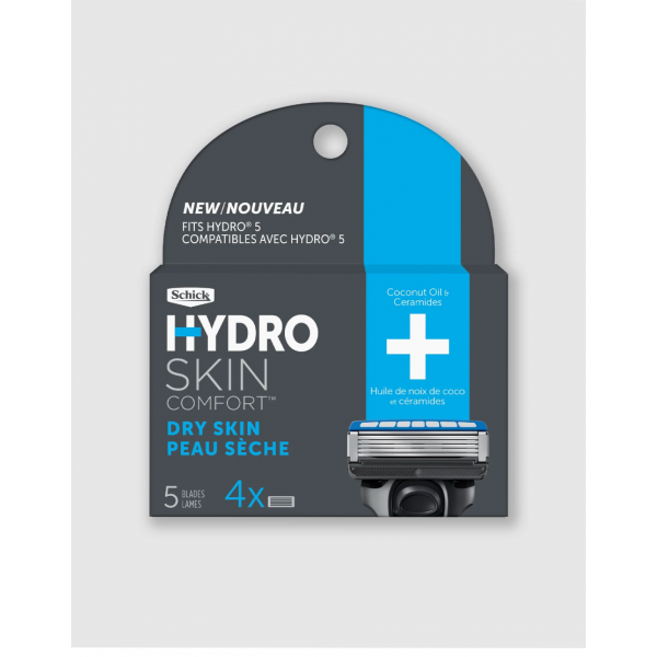 Сменные лезвия Schick Hydro 5 Dry Skin 4 шт.