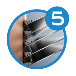 Сменные лезвия в ZIP конверте Schick Hydro 5 Sense , 12 сменных лезвия
