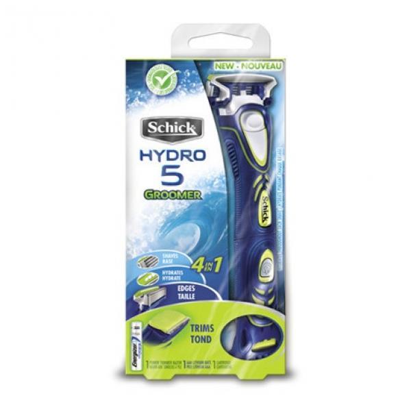 Бритвенный станок Schick Hydro 5 Groomer 4-в-1 (+ 3 лезвия)