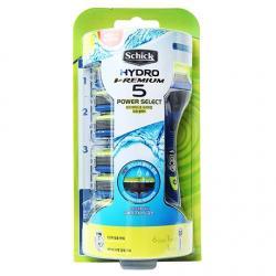 Бритвенный набор Schick Hydro 5 Power Select Premium (+ 6 сменных лезвий)