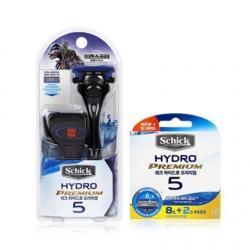 Бритва Schick Hydro 5 Premium Special Edition (1 бритва + 12 картриджей + футляр)