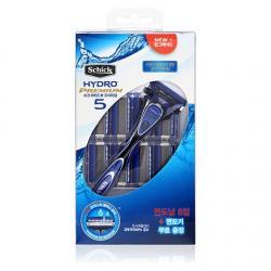 Бритвенный набор Schick Hydro 5 Premium (1 бритва + 10 сменных лезвий)
