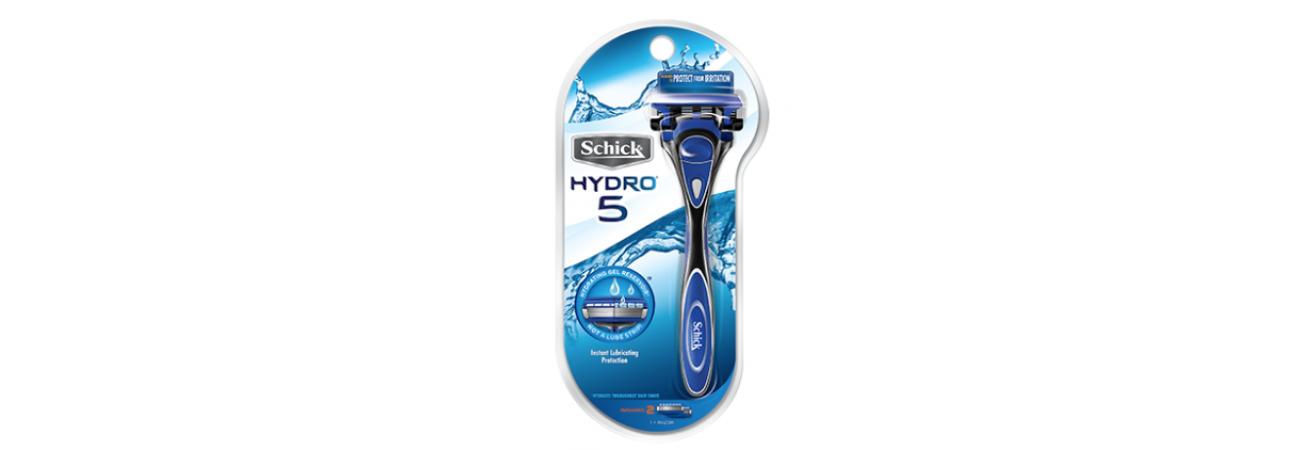 Бритвенный станок Schick Hydro 5 Premium (1 бритва + 1 картридж)