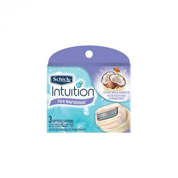 Сменные лезвия Wilkinson Sword Intuition Dry Skin (3 картриджа)